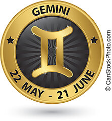 Géminis, zodíaco, oro, señal,...