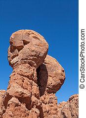 Monoliths in Garden of Eden