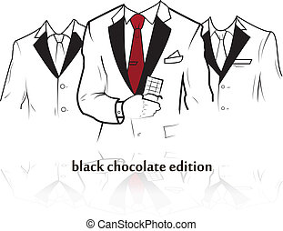 Chocolate candy collection - Vector chocolate candy...