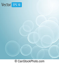 Vector background circles