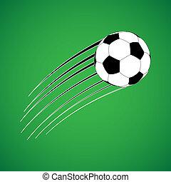 Soccer ball - Flying soccer ball
