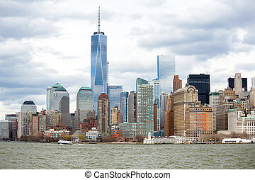Lower Manhattan - New York City at Lower Manhattan