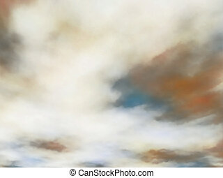 Creamy clouds