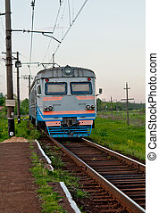 passenger train - ukrainian passenger train