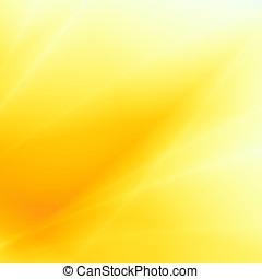 Sunny backgrouns abstract yellow card design