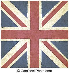 Union Jack old background