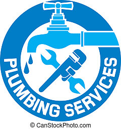 repair plumbing symbol, repair plumbing and plumbing design...