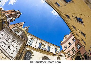 Wawel Castle complex in Krakow - Wawel Castle complex in...