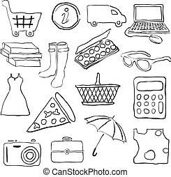 doodle shopping pictures