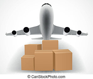 airplane delivery concept