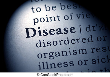 Disease - Fake Dictionary, Dictionary definition of the word...