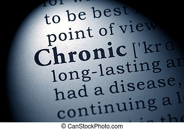 Chronic - Fake Dictionary, Dictionary definition of the word...
