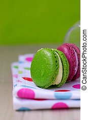 macaroon in the bank