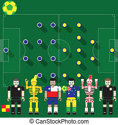Chile vs Australia - Group stage match The opposite of...
