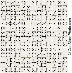 domino tiles texture - illustration texture with domino...