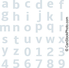 lowercase alphabet graph paper - lowercase alphabet with...