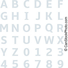 uppercase alphabet graph paper - uppercase alphabet on graph...