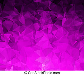 Abstract geometric background with polygons.  illustration.