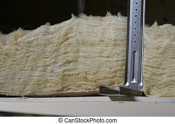 insulation - a part of an insulated ceiling