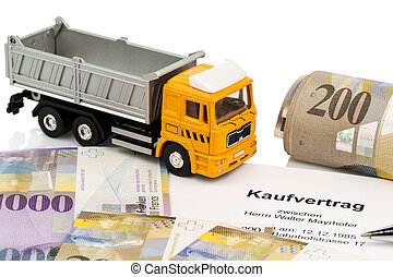purchase contract for new truck - the purchase contract for...