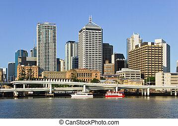 Brisbane central business district - Brisbane, the third...