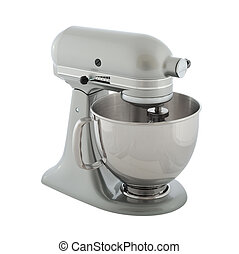 Planetary mixer - Kitchen appliances - gray planetary mixer,...