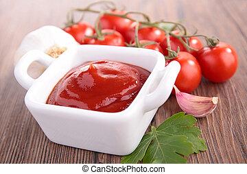 tomato sauce-ketchup