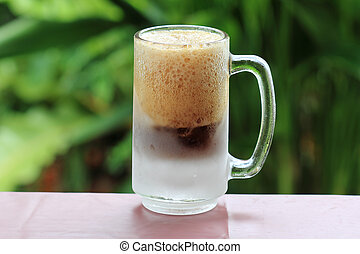 Root beer  - Old Fashion cold mug of Root beer