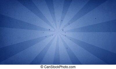 blue and darken blue sun rays