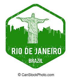 Rio de Janeiro stamp