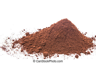 Grounded Coffee Powder - Grounded coffee powder background