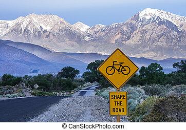 bicycles, Parte, estrada