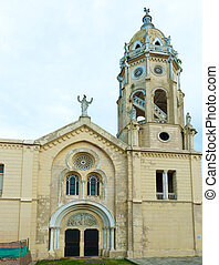 Casco Viejo Church, Panama City - Old church in Casco Viejo...