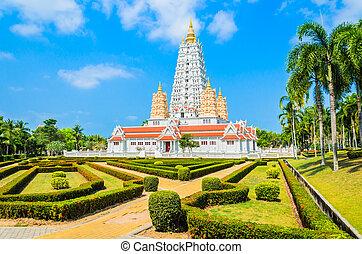 Thai temple chonburi