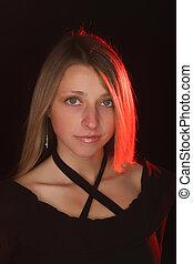 Nice girl's portrait