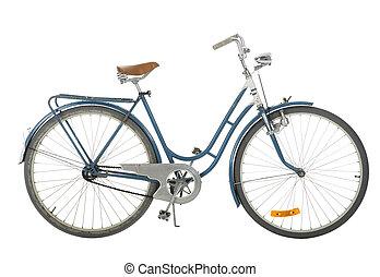 古い, 自転車, 作られた