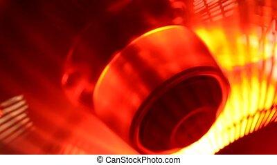 Industrial Fan - Close up of an electricIndustrialFan