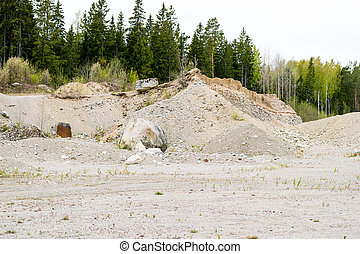 Natural resources in esker - Removal of esker for use as...
