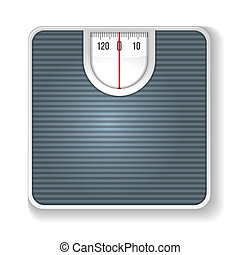 Weight Scale. Illustration on white background.