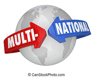 Multi-National Company International Business Trade...