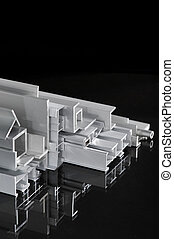 aluminum sectional strips - many different aluminum...