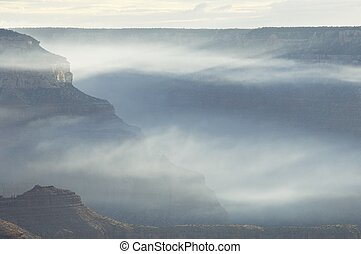 Grand Canyon - Hills in Grand Canyon National Park, Arizona,...