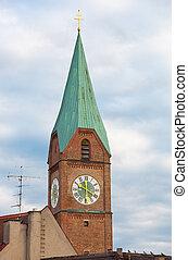 Allerheiligenkirche am Kreuz, Munich, Bavaria, Germany.