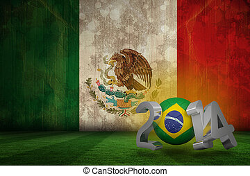 Composite image of brazil world cup 2014 - Brazil world cup...