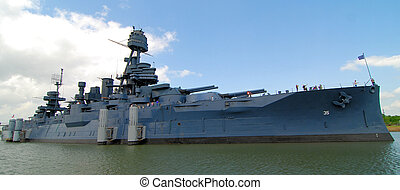 Battleship Texas - The Famous Dreadnought Battleship Texas