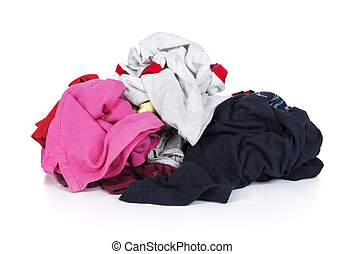 pile of clothing