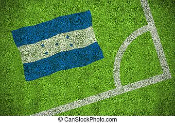 honduras, nacional, bandera