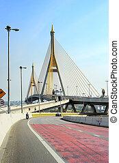 Road and Bridge in Bangkok