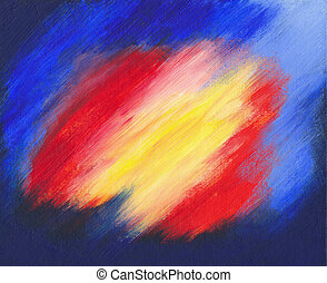 Abstract acrylic painting - Background - Abstract acrylic...