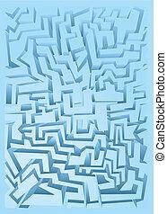 Soft blue cover